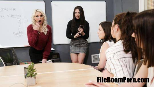 GirlsTryAnal, GirlsWay: Kenzie Taylor, Whitney Wright - Remote-Controlled Public Arousal [HD/720p/641 MB]