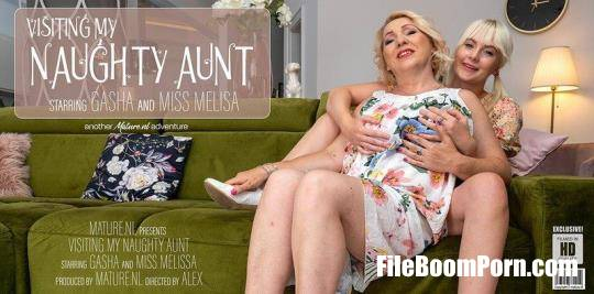 Gasha (45), Miss Melissa (21) - Aunt Gasha has a naughty evening with her niece Miss Melissa [SD/540p/294 MB] Mature.nl