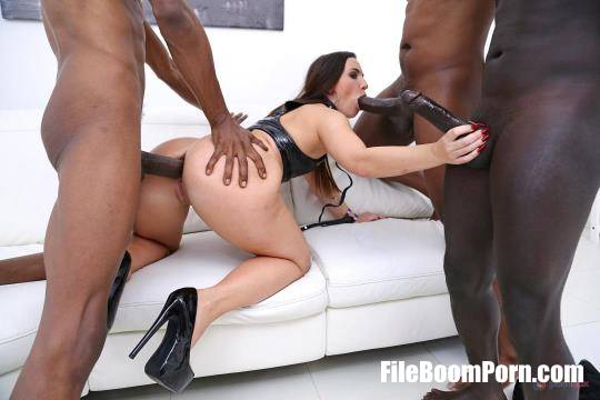 Kristy Black - Kristy Black VS 5 BBC with DP, DAP, DVP, anal rimming and creampie eating SZ2521 [HD/720p/2.42 GB] LegalPorno