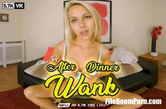 WankitnowVR: Chloe Toy - After Dinner Wank [UltraHD 4K/2880p/3.38 GB]