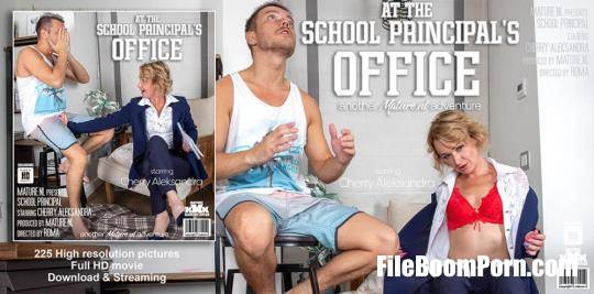 Mature.nl: Cherry Aleksandra - The Hot School Principle Has It In For Toyboys! [FullHD/1080p/1.54 GB]