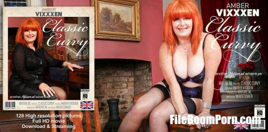 Amber Vixxxen (EU) (56) - Spend an evening with Curvy Classic Amber Vixxxen [FullHD/1080p/1.26 GB] Mature.nl, Mature
