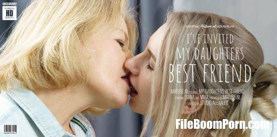 Mature.nl: Diana (54), Mika (21) - Diana invited her daughters best friend for a dinnerdate [FullHD/1080p/1.21 GB]