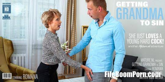 Mature.nl: Romana (69) - Granny wants a younger cock to suck and fuck! [FullHD/1080p/2.13 GB]