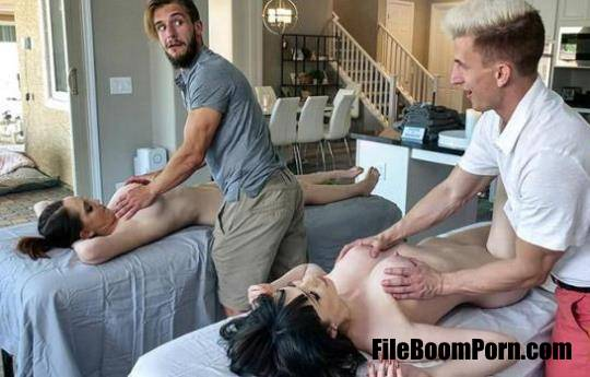 MomSwap, MYLF: April Storm, Nickey Huntsman - Stepmoms's Massage Treat [UltraHD 4K/2160p/5.37 GB]